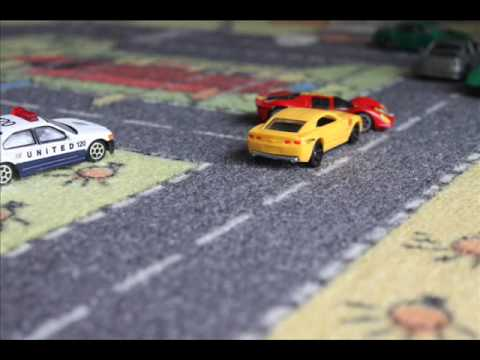 Hotwheels colour shifters car chase