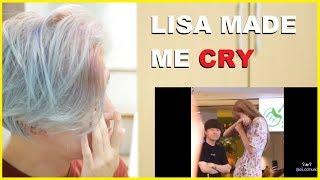 Video LISA MANOBAN CRYING & WHY PEOPLE LOVE HER Reaction | BLACKPINK Reaction MP3, 3GP, MP4, WEBM, AVI, FLV Agustus 2019