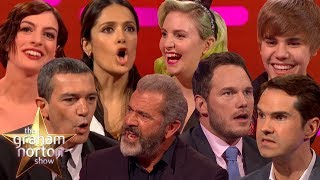 Video CELEBRITIES ATTEMPTING BRITISH ACCENTS on The Graham Norton Show MP3, 3GP, MP4, WEBM, AVI, FLV Agustus 2018