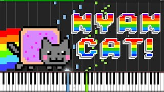 Nyan Cat [Piano Tutorial] Ноты и М�Д� (MIDI) можем выслать Вам (Sheet music for piano)