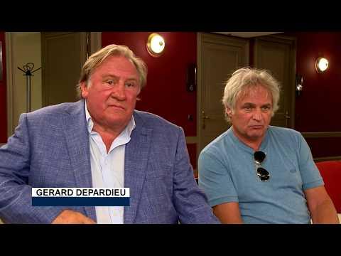 Depardieu performs songs by Barbara