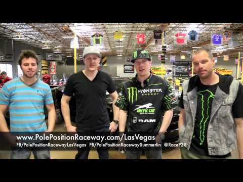 2014 Monster Energy AMA Supercross Series Weekend | Group Events Las Vegas pt. 1