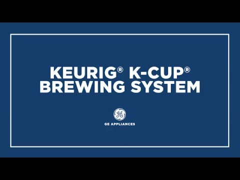 GE PROFILE SERIES REFRIGERATOR WITH KEURIG® K-CUP® BREWING SYSTEM