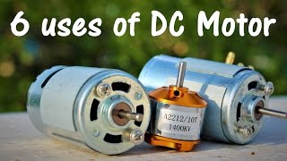 Video 6 useful things from DC motor - DIY Electronic Hobby MP3, 3GP, MP4, WEBM, AVI, FLV November 2017