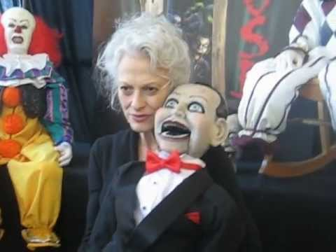 The Scary Closet's booth @ Son of Monsterpalooza October 2012 DEAD SILENCE star Judith Roberts