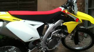 10. 2012 Suzuki RMZ 450 Start Up