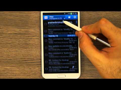 Samsung Galaxy Note 2 N7100 S Pen Review, Tips and Tricks – iGyaan HD