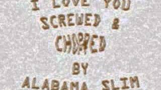 I Love You Faith Evans Screwed & Chopped By Alabama Slim