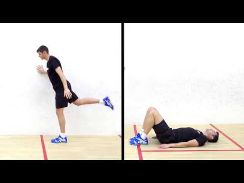 The squash warm-up with Gary Nisbet -  Mobility