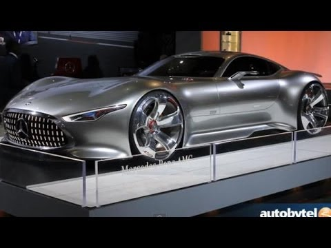 LA Auto Show: Mercedes-Benz AMG Vision Gran Turismo Concept Walkaround