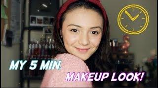 Video MAKEUP CUMA 5 MENIT?? SUPER CEPET! |  Amanda Rawles MP3, 3GP, MP4, WEBM, AVI, FLV Desember 2018