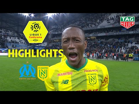 Olympique de Marseille - FC Nantes ( 1-3 ) - Highlights - (OM - FCN) / 2019-20