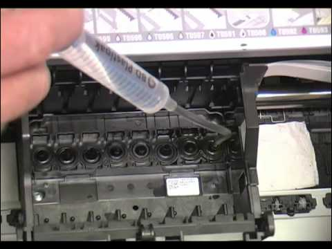 how to unclog epson printer nozzles