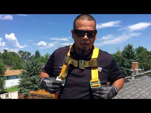 How to Use a Roof Safety Harness   Fall Protection
