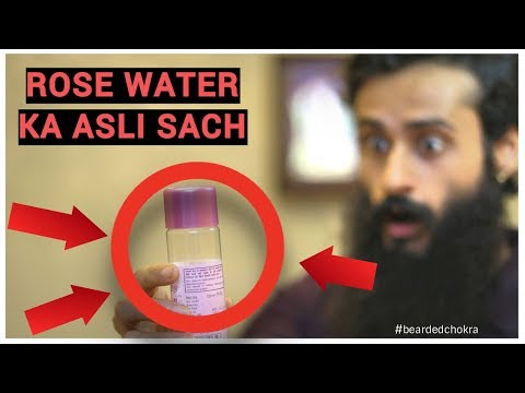 Beard oil - Don't Use Rose Water In Winter  Bearded Chokra
