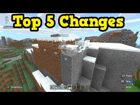 Minecraft Xbox Better Together - Top 5 Differences