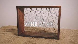 簡単DIY|インテリアで最強に使える木箱リメイクキーボックス
