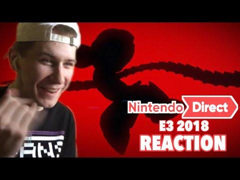 Nintendo E3 2018 Direct Live REACTION!