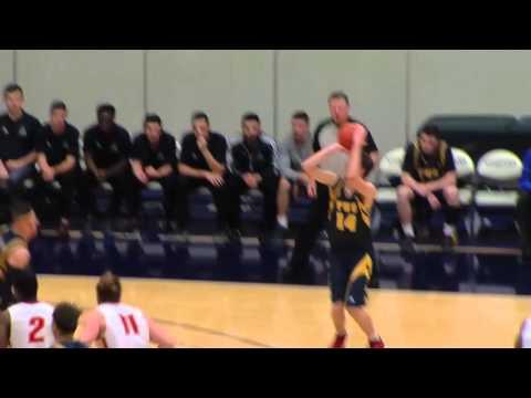 2016-01-23 TWU Men's Basketball Highlights vs Calgary