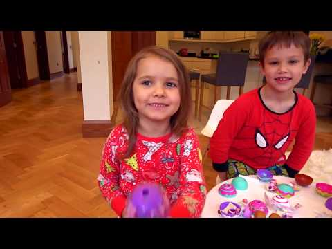 2 дня БЕЗ МАМЫ / Макс говорит на английском и французском/ Подарок/ Игрушки СакеРор Сuтiеs - DomaVideo.Ru