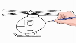 Easy step by step tutorial on how to draw a helicopter, pause the video at every step to follow the steps carefully. Enjoy ;)- Facebook: https://www.facebook.com/HowtoDrawSimply