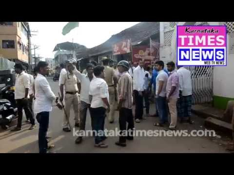Miscreants Pelted stones at a mosque in Mangaluru