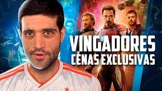 Vingadores Ultimato vai voltar pro cinema e Rio de Janeiro e São Paulo cidades Cyberpunk