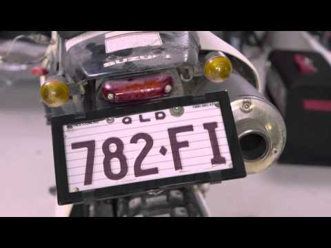 Altrex Motorbike Number Plate Protector - With Lines 9DMBL & Altrex Motorbike Number Plate Protector - With Lines 9DMBL ...