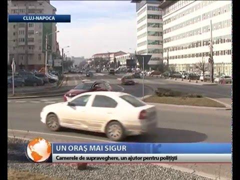 Camerele de supraveghere, polițiștii Clujului