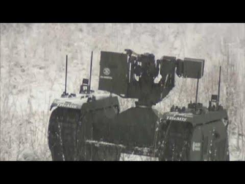 Εσθονία: Μάχιμα ρομπότ