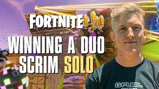 FaZe Tfue won a Duos Scrim Lobby by himself....