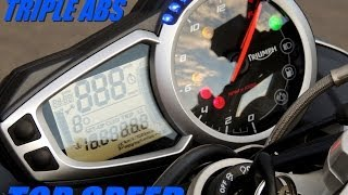 9. TRIUMPH STREET TRIPLE ABS - TOP SPEED (HD)