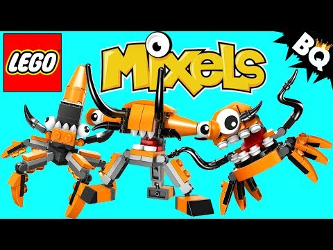 LEGO Mixels Orange Flexers Series 2 Collection Review