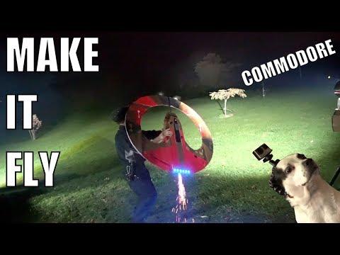MAKE IT FLY! Thor Spaceship Commodore (Ragnarok)