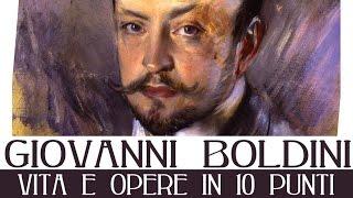Breve biografia della vita e delle opere di Giovanni Boldini, artista della Belle Epoque celebre per i suoi eleganti ritratti femminili.