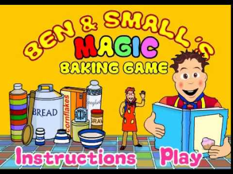 Big Cook Little Cook Magic Baking Game