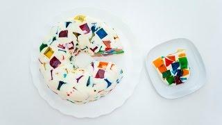 Como fazer gelatina colorida