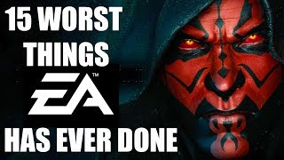 15 WORST Things EA Has Ever Done