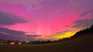 Goulburn Australia  city pictures gallery : Aurora Australis Chase Video From Goulburn NSW, Australia