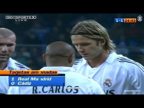 David Beckham ● All Goals For Real Madrid  2003-2007.