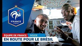 Video Equipe de France, Coupe du monde 2014: Le voyage au Brésil avec les Bleus ! I FFF 2014 MP3, 3GP, MP4, WEBM, AVI, FLV November 2017