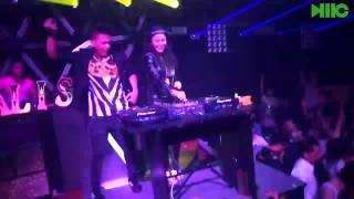 DJ Jessica vs DJ Myno | DJ/MC NJAY @Canalis Club (Njay's Video)