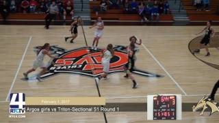 Argos Girls Basketball vs Triton - Sec Quarterfinal