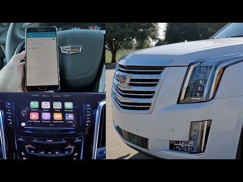 2016 Cadillac Escalade: Top 5 Favorite Features (CarPlay/4G LTE)