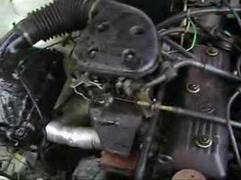 Motor Gol Quadrado 1.6 CHT ORIGINAL