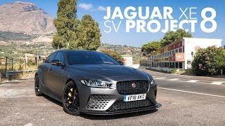 Jaguar XE SV Project 8: Reviewing a Road Racer on the Targa Florio - Carfection (4K) by Carfection