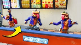 Download Video EPIC NEW *BURGER SKIN* TROLLING! - Fortnite Funny Fails and WTF Moments! #286 MP3 3GP MP4