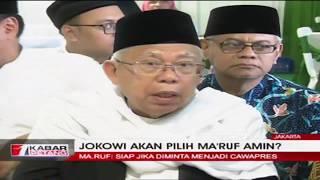 Video Ditanya Soal Cawapres Jokowi, Ma'ruf Amin: Harus Siap MP3, 3GP, MP4, WEBM, AVI, FLV Januari 2019