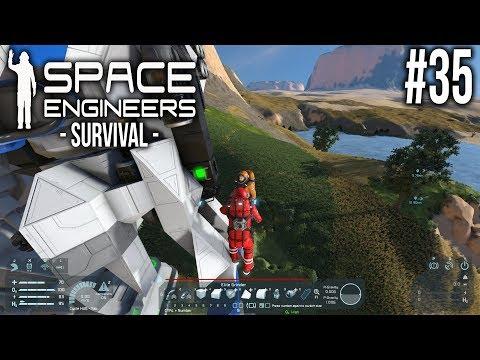 Space Engineers - Survival - Ep 35 - On the Edge! (видео)