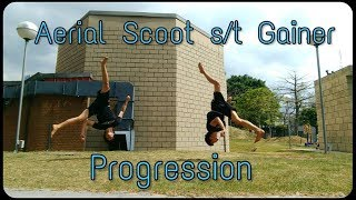 COMBO TIME - My Aerial Scoot s/t Gainer Progression